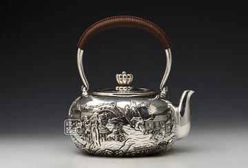 手工银壶发展历史:我国手工银壶已有数千年的发展历史