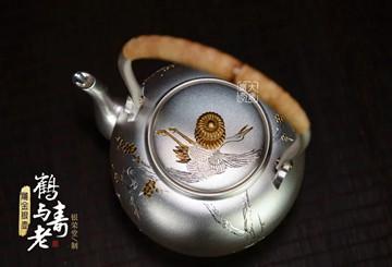 银壶开壶有讲究:不同类型银壶开壶次数不同!