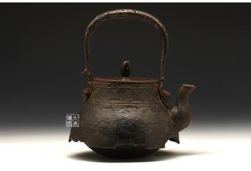 传承近400年的日本铁壶著名堂口:御釜屋的历史纪年