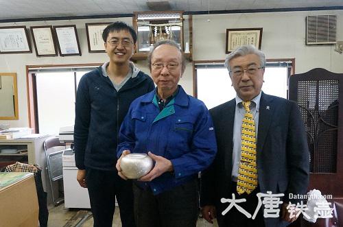 日本最顶级的银壶工匠之一:森川荣月对手艺的坚守