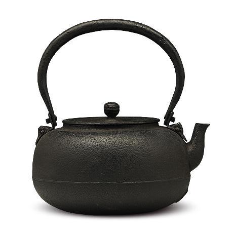 南部铁器御釜屋 柚子型砂铸铁壶