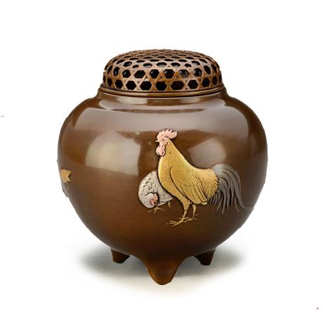 喜泉堂 玉型鸡香炉