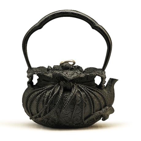 大国复刻 宝袋形铁壶
