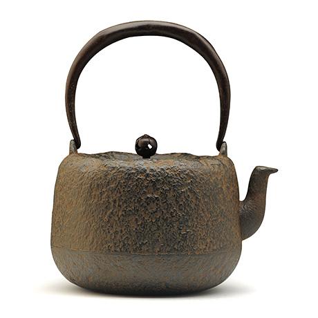 平安松寿堂 道安形铁壶