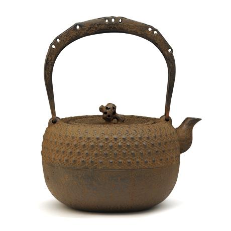 清茂作 18型小槌龟甲纹铁壶