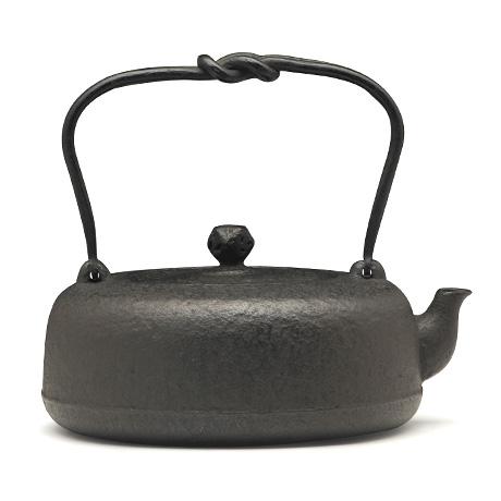 御釜屋 銅羅形铁壶