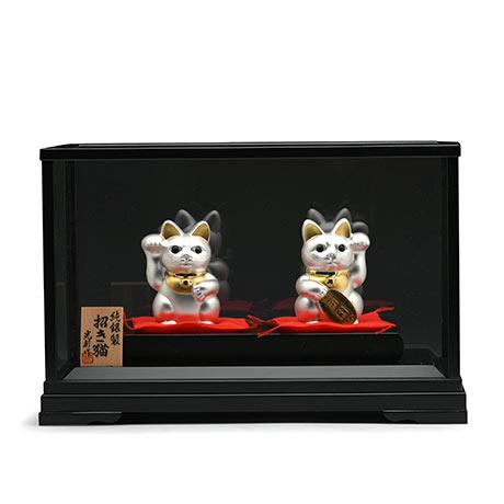 纯银制招财猫