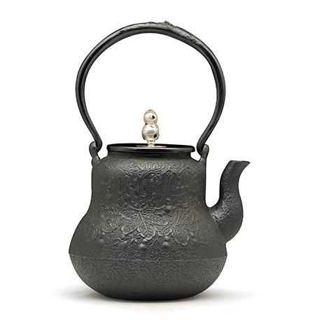葫芦形铁壶