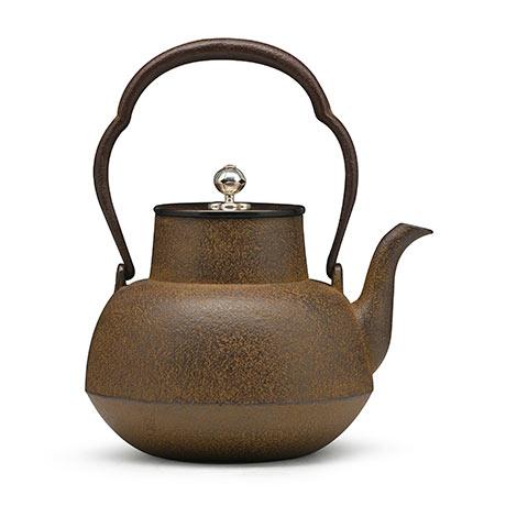 清光堂 甑口形老铁壶