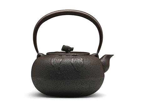 佐秋铸造所 蜜柑铁壶