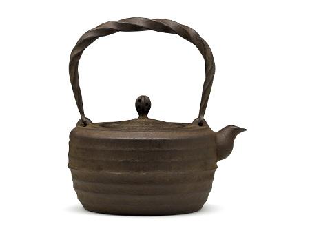 虎山工房 横纹铁壶