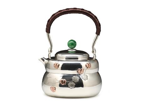 张家松 葫芦银壶