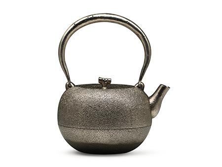 田山和康 柚子形砂铁壶