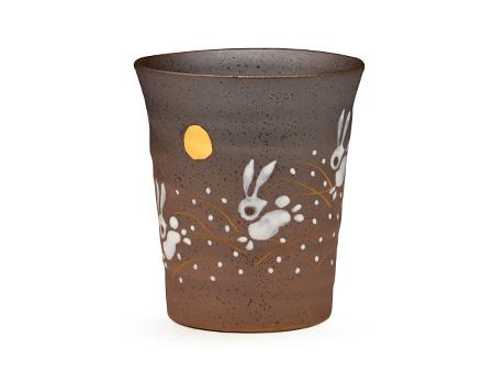 日本九谷烧 月兔 水杯