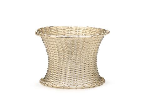 纯银编织茶漏架