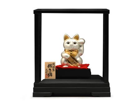 大渊银器 纯银制招财猫(单只)