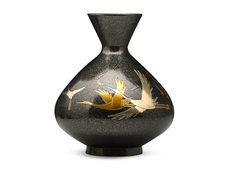 千羽鹤花瓶
