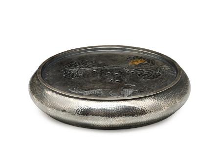 国匠银器 荷塘茶洗